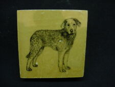 Chesapeake Bay Retriever Rubber Dog Stamp wood Stamper mounted Puppy Pet Chessie