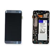 DISPLAY LCD VETRO TOUCH SCREEN SM-G928F S6 EDGE PLUS SILVER ORIGINALE + BATTERIA