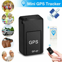 GF07 Mini GPS Real time Car Locator Tracker Magnetic GSM GPRS Tracking Device US