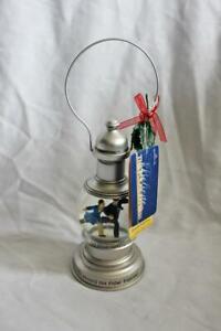 "Hallmark Polar Express Snow Globe Lantern ""Believe"" with Tags"