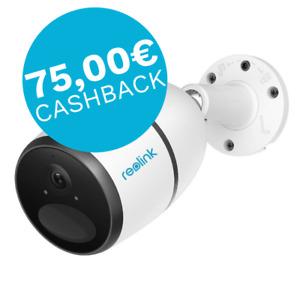 Reolink Go Kabellose 4G-LTE Überwachungskamera 1080p HD Kamera + 75€ Cashback