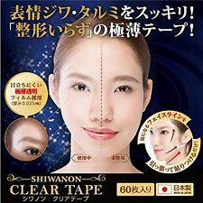 Facial Lift up Chez Moi SHIWANON clear tape face wrinkle Sagging skin Japan New