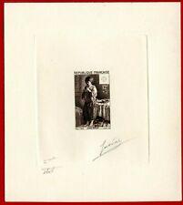 "France 1956 #B309, 2nd Stage Die Proof, ""Peasant Boy"" by Le Nain"