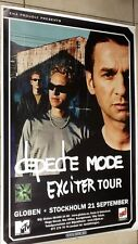 Depeche  Mode tour poster / Exciter Tour