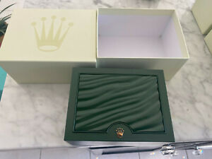 ROLEX OYSTER Presentation Watch Green Box Case