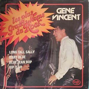 Dischi 33 Giri Le Plus Grands Nomi Del Rock Gene Vincent