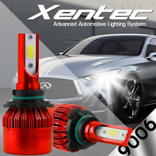 XENTEC LED HID Headlight Conversion kit 9006 6000K for 1990-1996 Jaguar XJ12