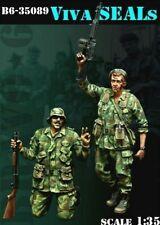 1/35 Escala Kit De Modelo De Resina Figura de sello de Estados Unidos Vietnam Viva