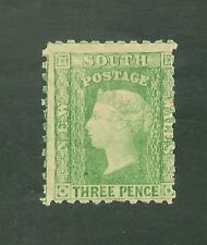 New South Wales #54e (SG #211a) Fine OG - 1874 3p Queen Victoria SCV $175.00
