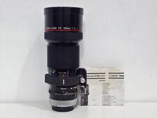 Canon FD 300mm 4.0 L - Fungus - (A7, m4/3, MFT, Fuji X) - #12893