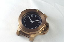 Vintage Mille Metri in Bronze  from unknown History ! with rubber strap !