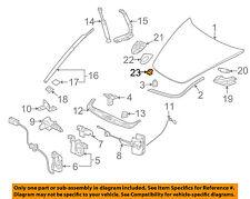 PORSCHE OEM 05-18 911 Hood-Emblem badge name plate Nut 99959142303