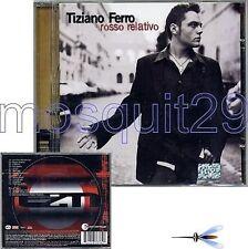 TIZIANO FERRO RARO CD BRASILE + 3 BRANI IN PORTOGHESE