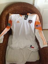 ADIDAS  Houston Dynamo soccer Jersey long sleeve new with tag Size XL Men