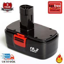 NEW of Craftsman DieHard C3 19.2Volt NiCd Battery Replacement Craftsman 11375 US