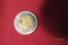 2 Dollar Canada Elizabeth II and D. G. Regina 1996 With Bear On The Back