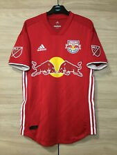New York Red Bulls 2018-2020 Away Authentic Player Issue Soccer Jersey Shirt S