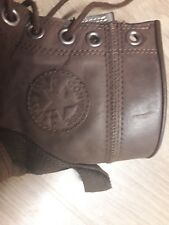 MENS BOOTS BY CONVERSE ALLSTARS SIZE 8 BROWN