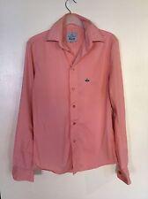 Vivian Westwood Pale Pink Mens Shirt, Size Small, VGC.