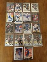 Joe Sakic 18 Card Lot - Multiple Brands/ years Nordiques/Avalanche