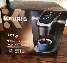 Keurig K-Elite Brushed Slate Single Serve Coffee Maker, Brand New
