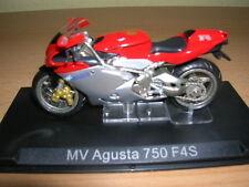 Ixo Altaya Mv Agusta 750 F4S Rojo Plata Red Plata Moto 1:24 Moto