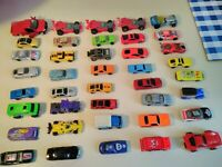 Lot of 40+ Toy Cars and Trucks Matchbox, Hot Wheels, Maisto, and Others
