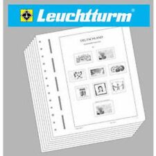 Leuchtturm Illustrated Album Pages French Zone 1945-194