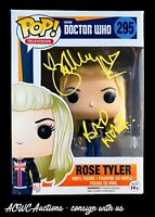 Funko POP! - Television - Doctor Who - Rose Tyler - Signed by Billie Piper - JSA