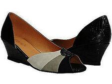 New Plus Size Peep Toe Wedges - Size 12.5 13 13.5 14