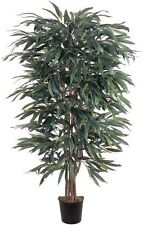 Nearly Natural 5018 Weeping Ficus Silk Decorative Tree- 5-Feet- Green New
