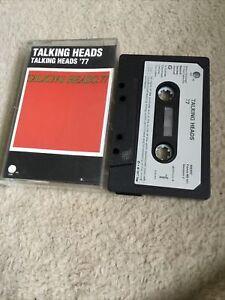 Talking Heads 77 Cassette