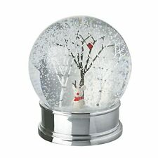 Heaven Sends Cute Mouse With Antlers Christmas Snow Globe - Home Decoration