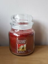 Yankee candle dazzling red maple medium jar. USA exclusive
