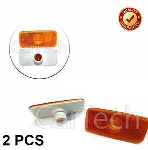 2X SIDE MARKER LIGHT LAMP JUMBO FOR FORD TRANSIT MK6 MK7 2000-2013 1671689
