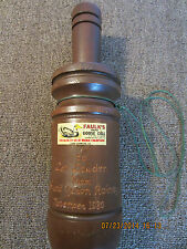 """FAULK'S CH44"" HUNTER'S, WOODEN GOOSE CALL"