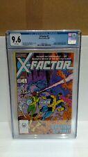 MARVEL X-FACTOR #1 2/86 CGC GRADED 9.6 MARVEL COMICS
