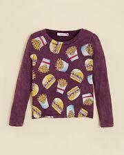 Play Six Girls' Burger & Fries TeePurple, Size S, MSRP $46
