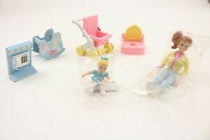 Vintage Playskool Dollhouse Accessories Lot