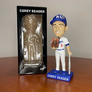 Corey Seager Signed 2017 Los Angeles Dodgers Baseball Bobblehead