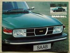 SAAB 99L UK Car Sales Brochure 1975 #200121