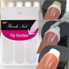240 pcs French Manicure Nail Art Tips Form Guide Sticker Polish DIY Stencil