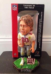 Jeremy Shockey New York Giants Bobblehead, NFL, Miami Hurricanes
