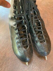 Men's Size 5 AMERICAN ATHLETIC SHOE Figure Skates Black # 552