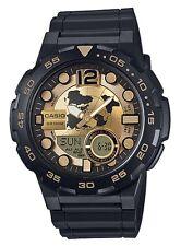 Casio Watch * AEQ100BW-9AV Telememo 3D Dial Gold & Black COD PayPal #crzyj