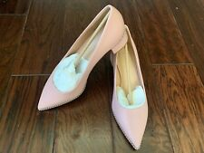 COACH WILLA 45 Leather Pump Size 7 B Style # G4610