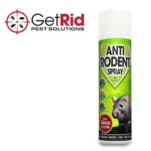 Rat Deterrant Anti-Rodent Spray Rat Mouse Mice Squirrel Repellent Deters Rodents