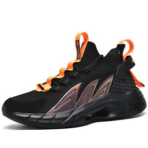 Mens Breathable Walking Sports Shoe Ultralight Casual Sport Gym Fashion Trainers