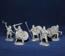 40 mm Metal Soldier Set - Viking Warriors  - 5 figures  EK Castings #kit40-03