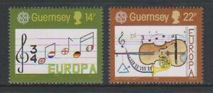Guernsey - 1985, Europa, Music Year set - MNH - SG 340/1